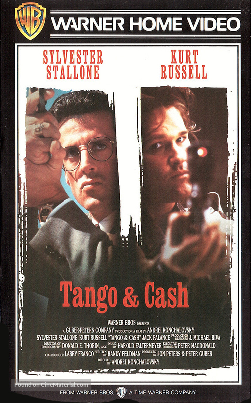 Tango And Cash - Finnish VHS movie cover