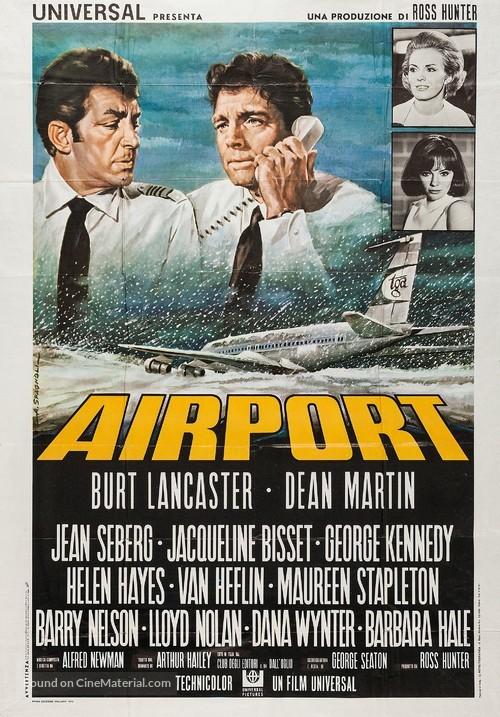 Airport - Italian Movie Poster