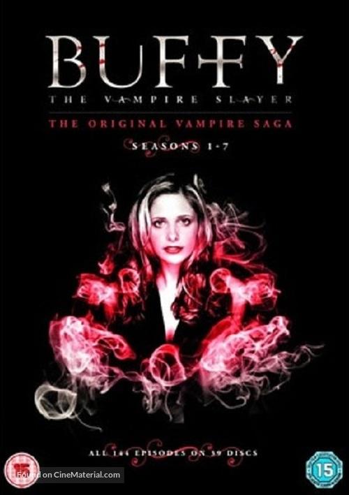 """Buffy the Vampire Slayer"" - British DVD movie cover"