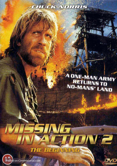 Missing In Action 2: The Beginning   Danish DVD Cover  Missing In Action Poster