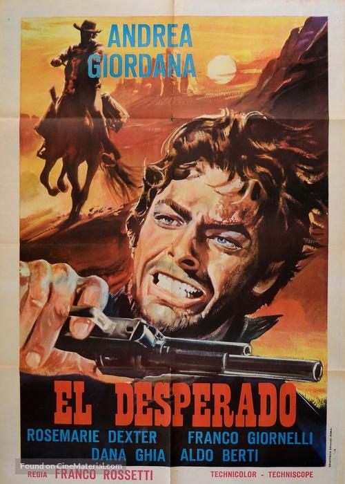 El Desperado 1967 Italian Movie Poster