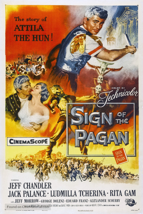Sign of the Pagan - Movie Poster
