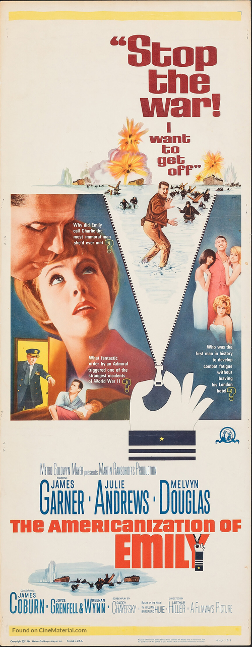 The Americanization of Emily - Movie Poster