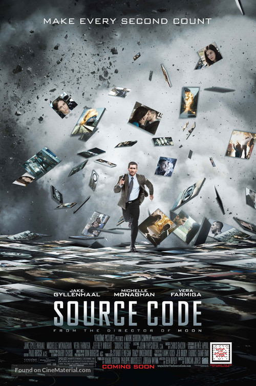 Source Code - Movie Poster