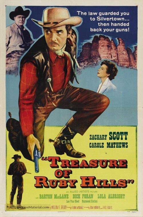 Treasure of Ruby Hills - Movie Poster