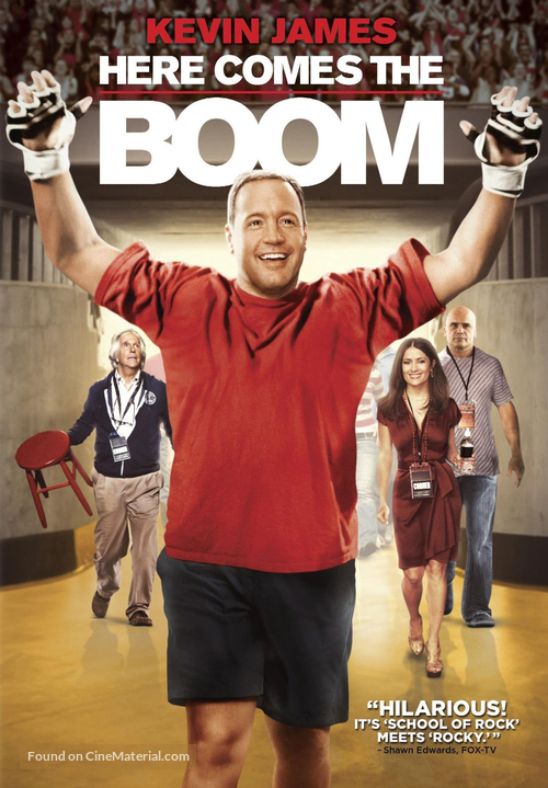 Here Comes the Boom - DVD movie cover