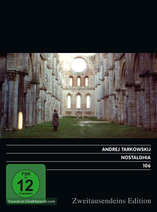 Nostalghia - German DVD movie cover