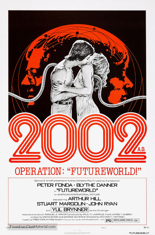 Futureworld - Movie Poster