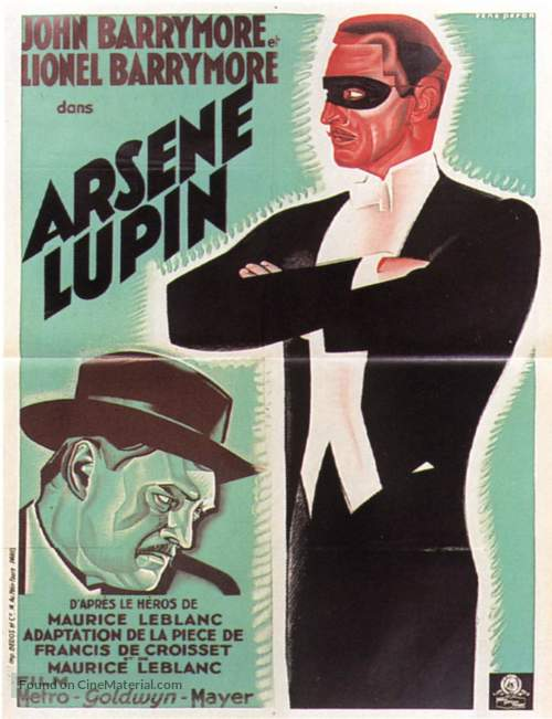 Arséne Lupin - French Movie Poster