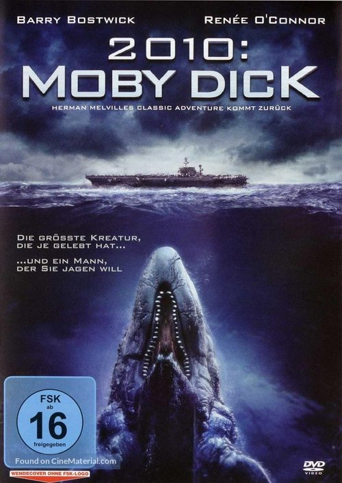 2010: Moby Dick - German Movie Cover