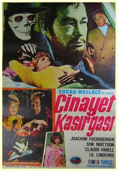 Im Banne des Unheimlichen - Turkish Movie Poster