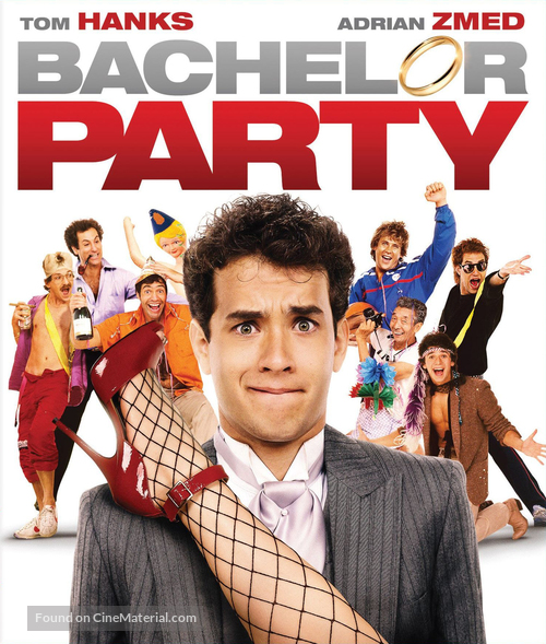 Bachelor Party - Blu-Ray cover