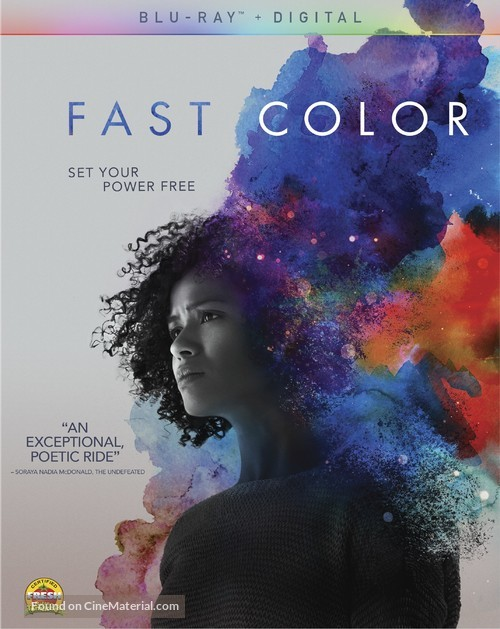 Fast Color - Blu-Ray movie cover