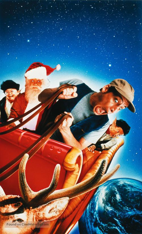 Ernest Saves Christmas (1988) key art