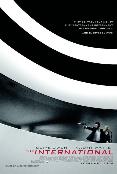 The International - Movie Poster