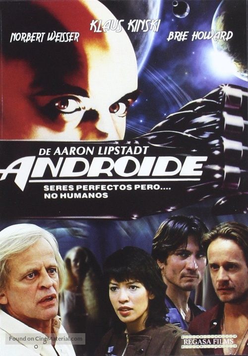 Android - Spanish DVD movie cover