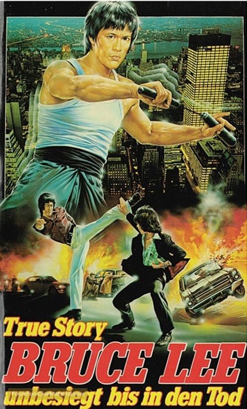 Li Hsiao Lung chuan chi - German VHS movie cover