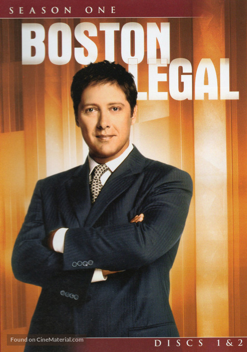 """Boston Legal"" - DVD movie cover"