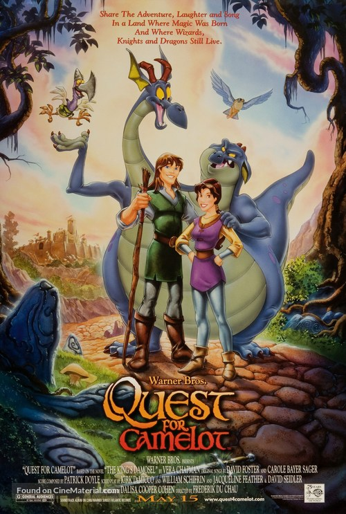 Quest for Camelot - Advance poster