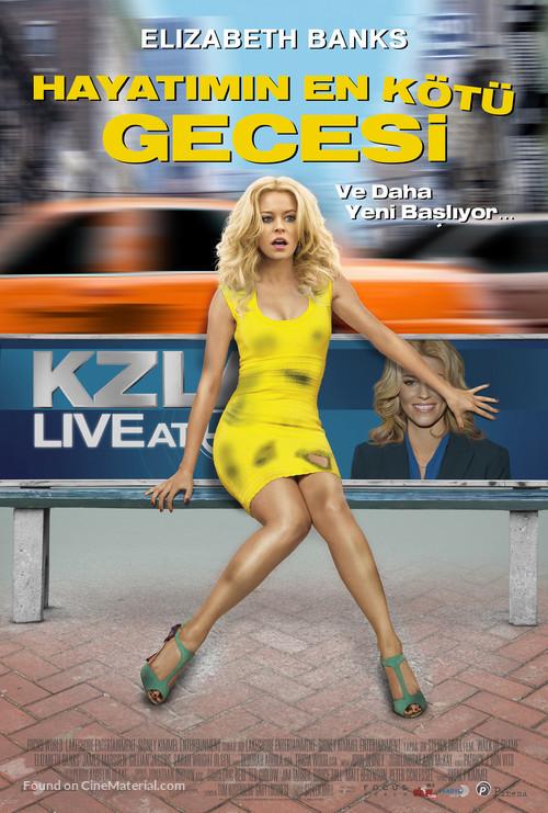 Walk of Shame - Turkish Movie Poster