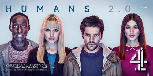 """Humans"" - British Movie Poster"