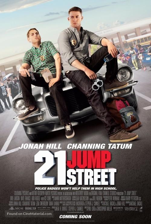 21 Jump Street - Movie Poster