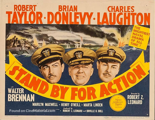 Stand by for Action - Movie Poster