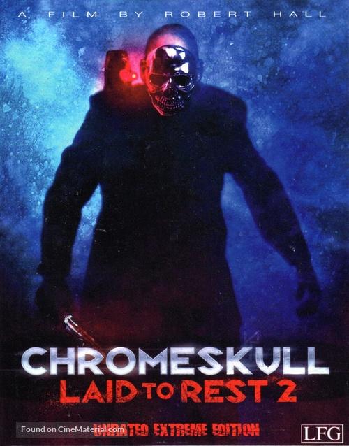 ChromeSkull: Laid to Rest 2 - Austrian Blu-Ray movie cover