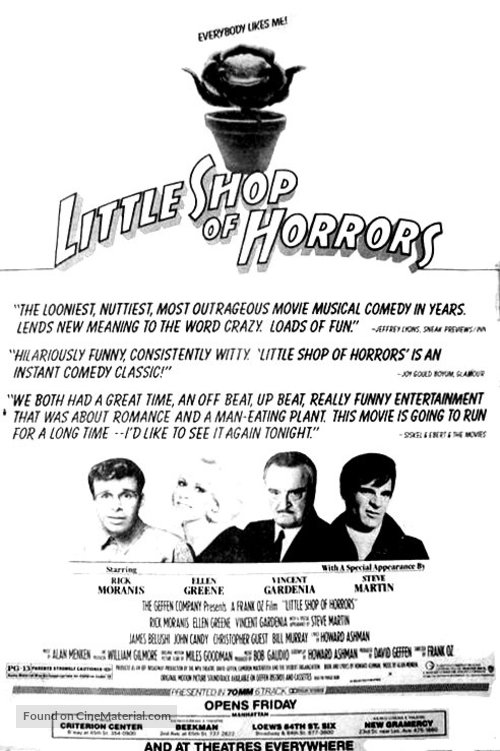 Little Shop of Horrors - Movie Poster