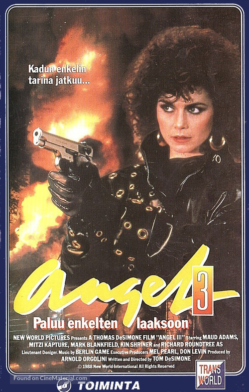 Angel III: The Final Chapter - Finnish VHS movie cover