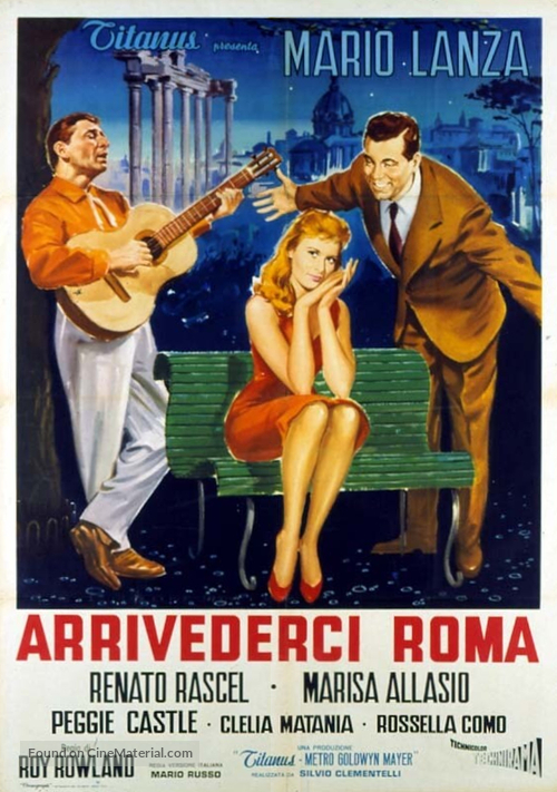 Arrivederci Roma - Italian Movie Poster