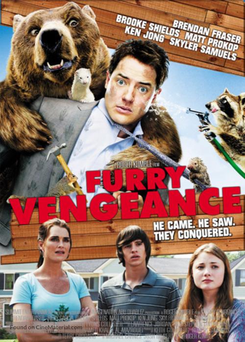 Furry Vengeance - Singaporean Movie Poster