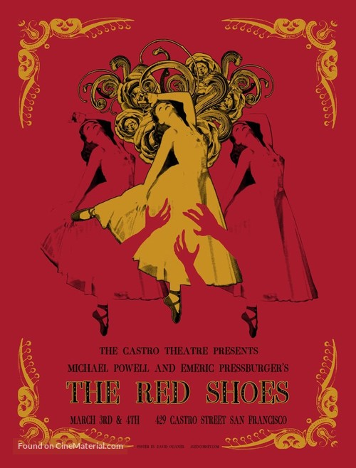 The Red Shoes - Homage movie poster