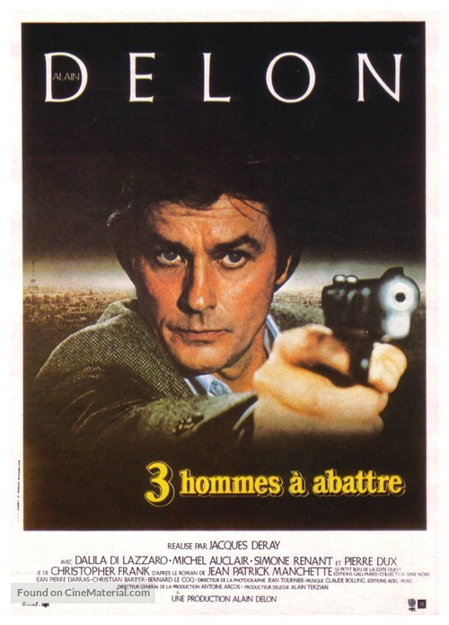 3 hommes à abattre - French Movie Poster