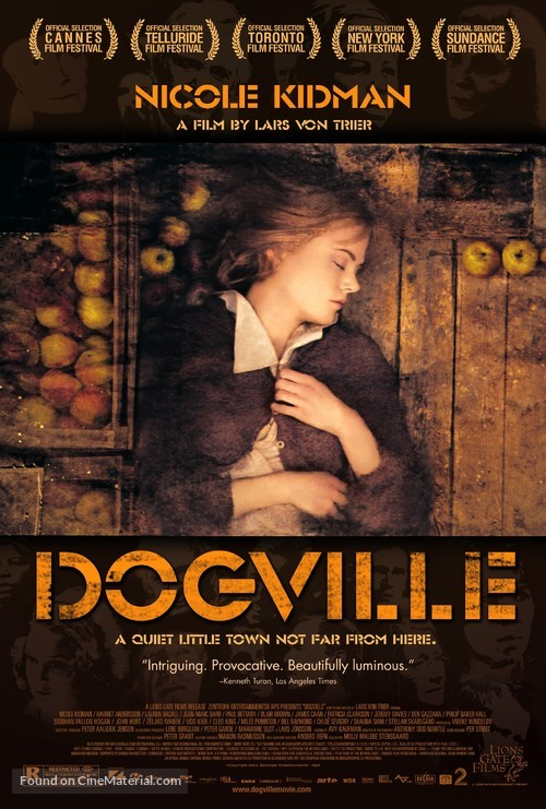 Dogville - Movie Poster