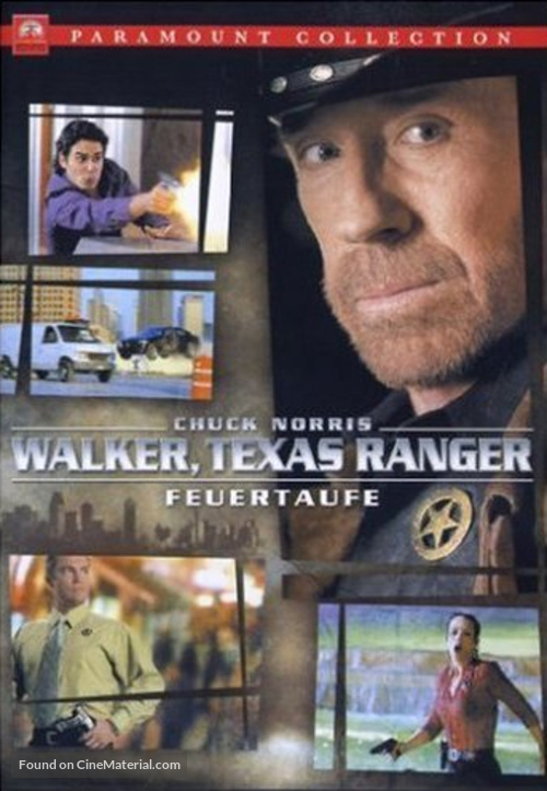 Walker, Texas Ranger: Trial by Fire - Movie Cover