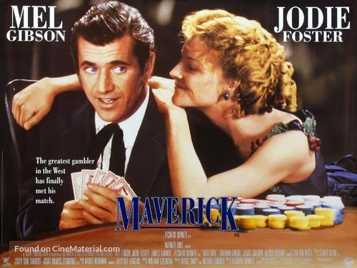 Maverick - British Movie Poster