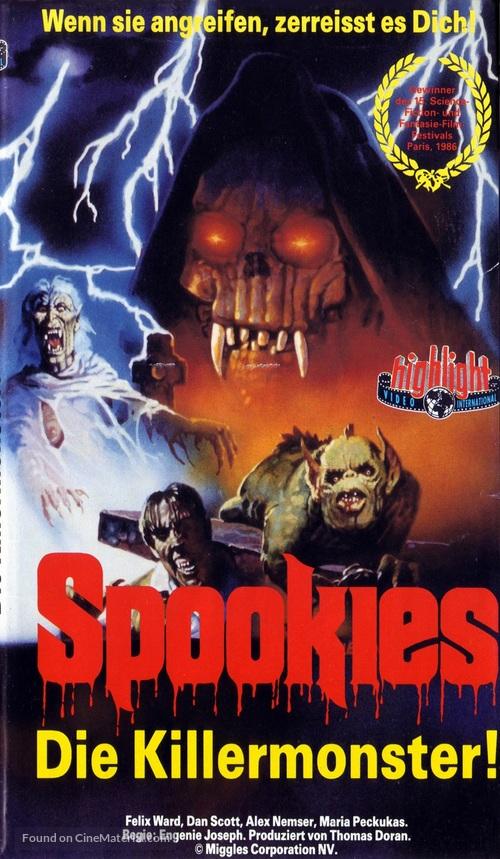 Spookies - German VHS movie cover