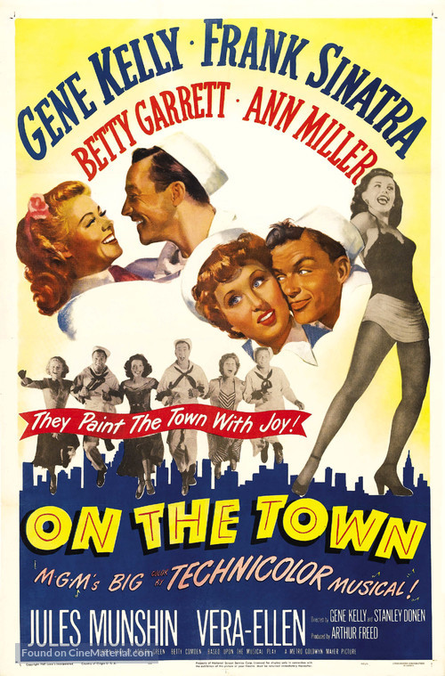 On the Town - Movie Poster