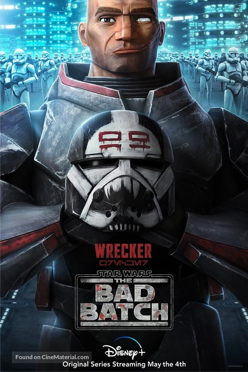 """Star Wars: The Bad Batch"" - Movie Poster"