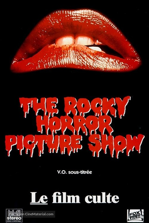 The Rocky Horror Picture Show - French Movie Cover