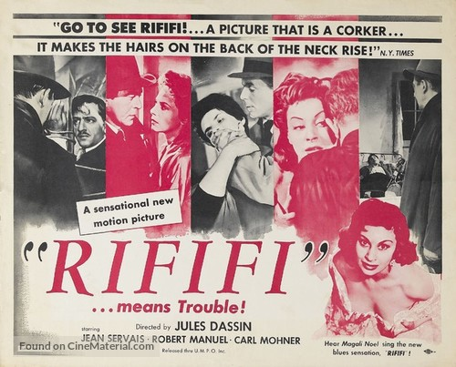 Du rififi chez les hommes - Movie Poster