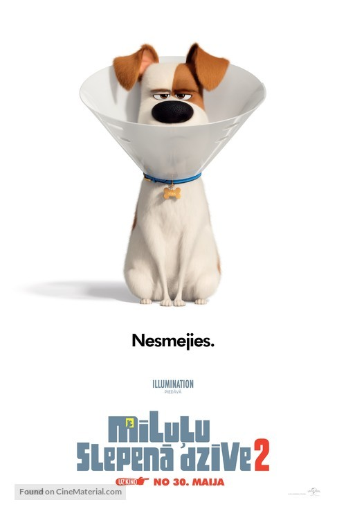 The Secret Life of Pets 2 - Latvian Movie Poster