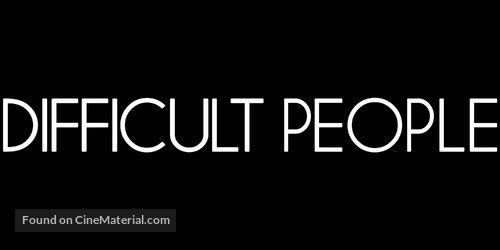 """Difficult People"" - Logo"