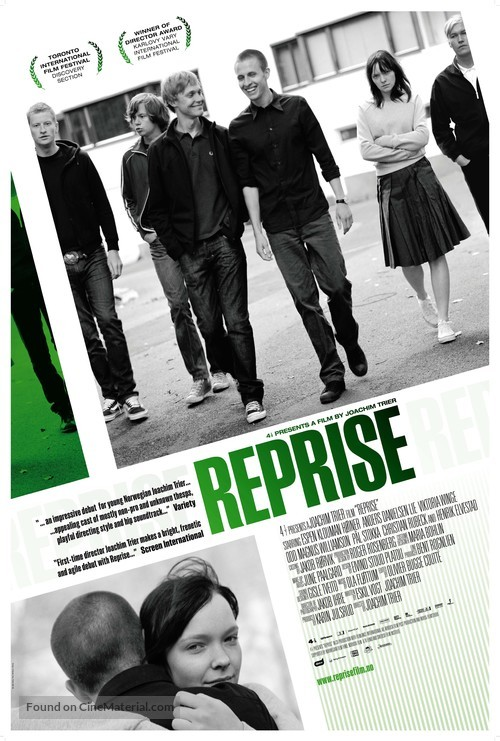 Reprise - Norwegian Movie Poster
