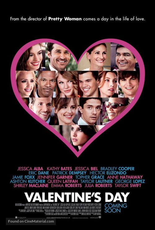 Valentine's Day - British Movie Poster