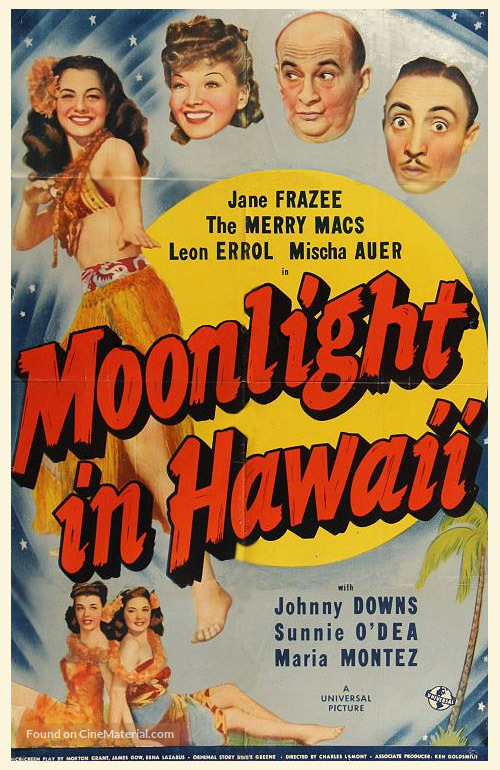 Moonlight in Hawaii - Movie Poster