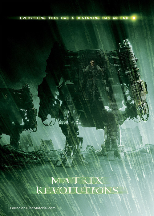 The Matrix Revolutions - Movie Poster