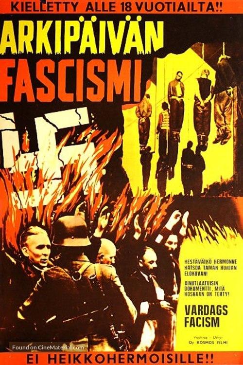 Obyknovennyy fashizm - Finnish Movie Poster