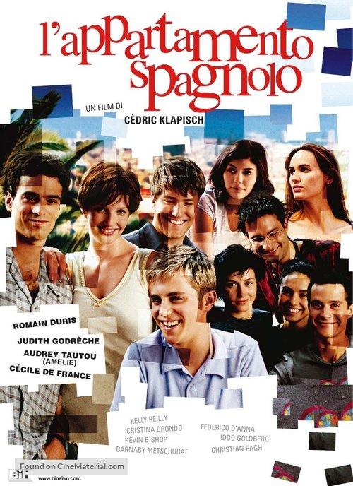 L'auberge espagnole - Italian Movie Poster
